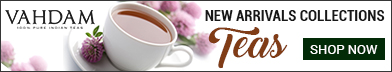 New Arrivals Collections Teas