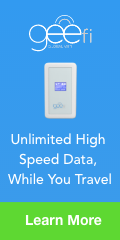 Unlimited Internet While You Travel