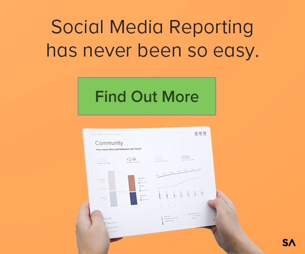 Social media reporting has never been so easy