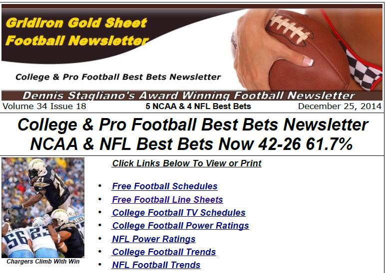 Football Newsletter