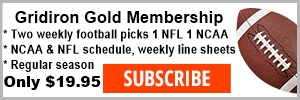 GRIDIRON GOLD FOOTBALL PICKS