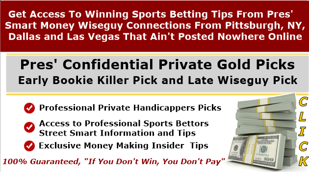 PRIVATE GOLD FOOTBALL PICKS