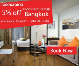 5% off, promo code: bangkok5