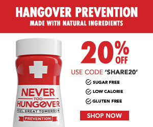 never too hangover discount