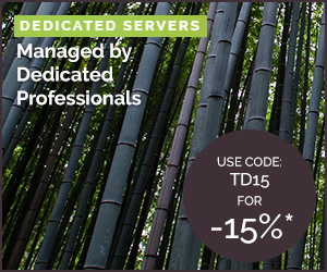 TD Web Services Dedicated Servers 15% OFF Discount - Use CODE TD15