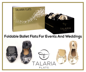 Foldable Ballet Flats For Events And Weddings