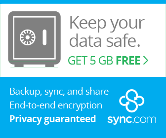Sync Secure Cloud Storage Get 5 GB Free