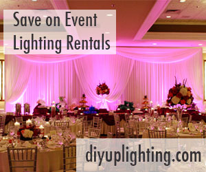 save on event lighting