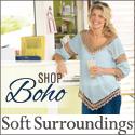 Shop Soft Surroundings' Boho Style!