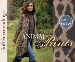 Shop Soft Surroundings' Animal Prints!