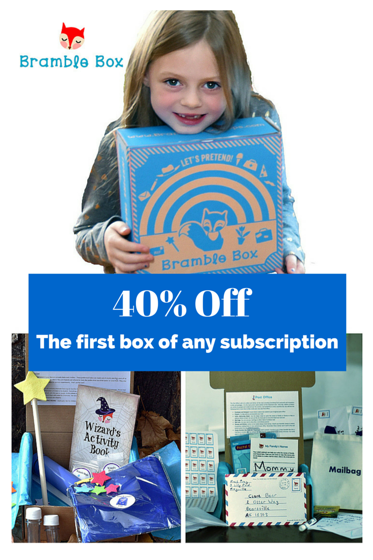 40% off your first box
