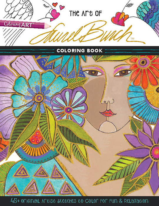 The Art of Laurel Burch™ Coloring Book