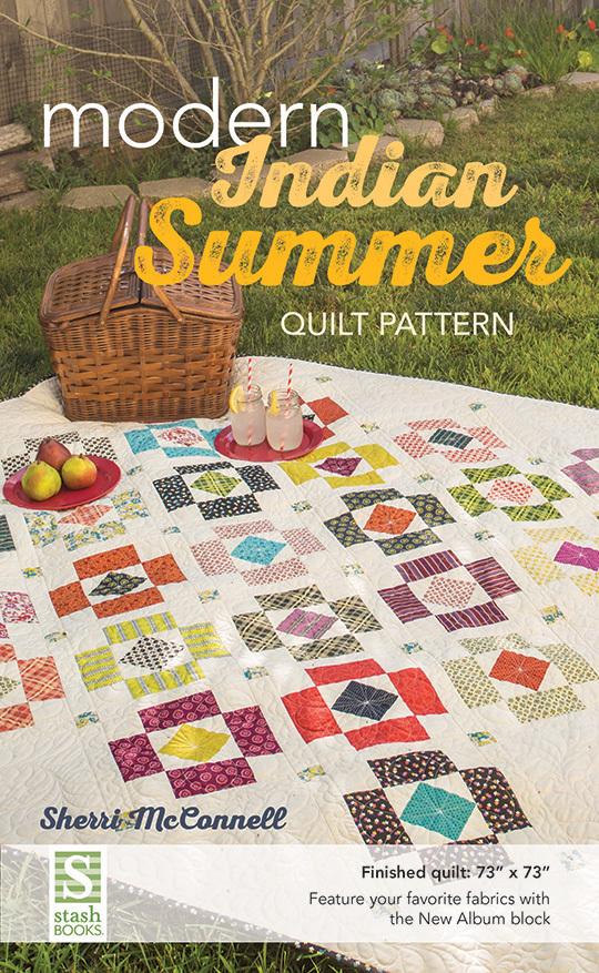 Modern Indian Summer Quilt Pattern