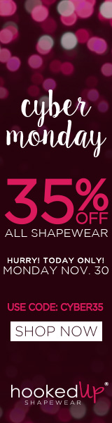35% off HookedUp Shapewear for Cyber Monday