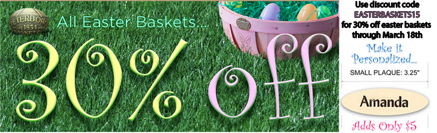 30% Off Easter