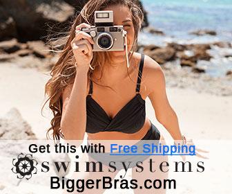 Swim Systems swimwear with free shipping at Biggerbras.com