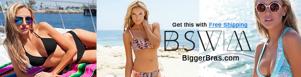 B.Swim swimwear with free shipping at Biggerbras.com