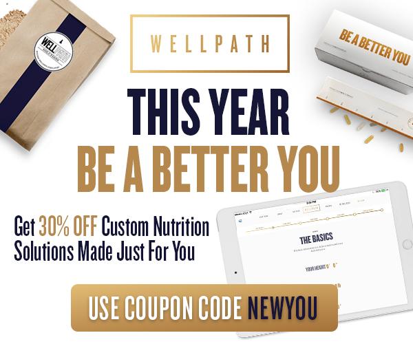 WellPath 30% Discount Be Better Banner