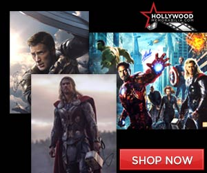 Shop for Thousands of 100% Authentic Autographed Marvel Collectibles at HollywoodMemorabilia.com