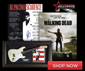 Shop for Thousands of 100% Authentic Autographed Entertainment Collectibles at HollywoodMemorabilia.com