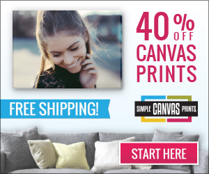 40% off Canvas Prints & Free Shipping
