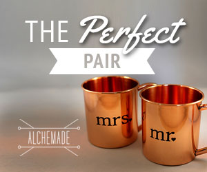 Wedding Gifts Copper Mugs Moscow Mules