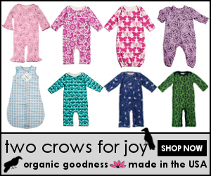 Two Crows for Joy organic made in USA children's clothes