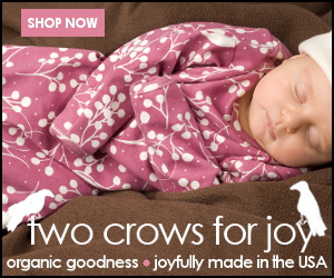 Two Crows for Joy organic baby clothes