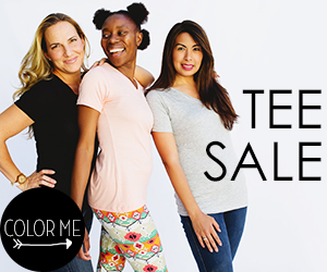 Women's Tee Sale Color Me Apparel
