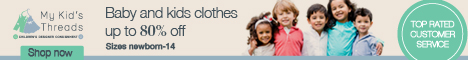 New and like-new kids clothing up to 80% off