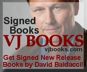 Signed books by David Baldacci
