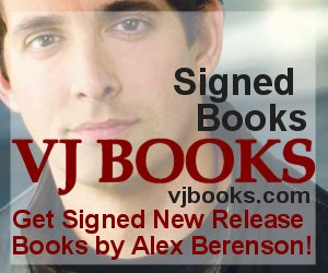 Books signed by author Alex Berenson