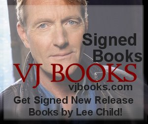 Signed books by Lee Child