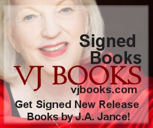 Books signed by author JA Jance