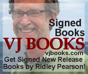 Books signed by author Ridley Pearson