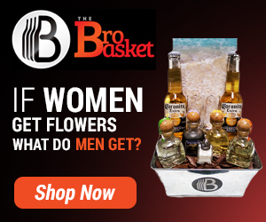 Get men a gift they really want - Their Favorite Booze!