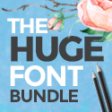 66 Fonts for $29!! TheHungryJPEG.com