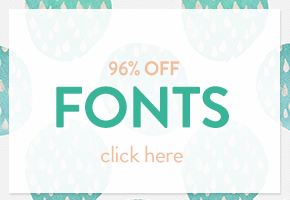 SALE!! 97% OFF - 38 AMAZING Fonts
