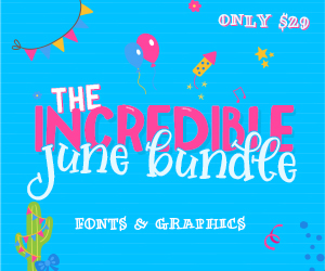 SALE!! 96% OFF Get The Incredible June Bundle!