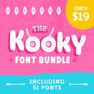 SALE!! 96% OFF Fonts and Typefaces