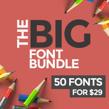 50 Fonts for $29