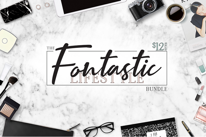 The Fontastic Lifestyle Bundle
