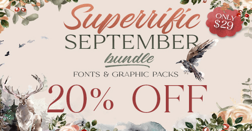 Superrific September Bundle