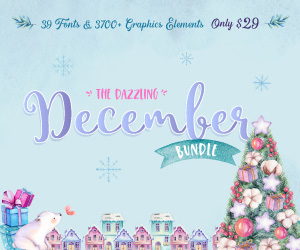 SALE!! 96% OFF Get The Dazzling December Bundle