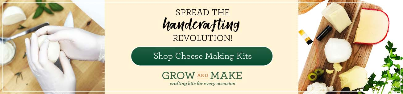 Spread the handcrafting revolution with Grow and Make!