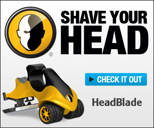 Shave your head! Check it out!