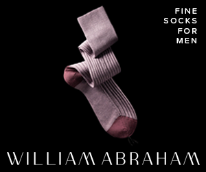 WILLIAM ABRAHAM Luxury Socks for Men