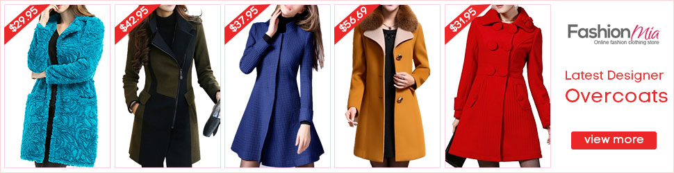 Latest Designer Overcoats! Shop Now!!?