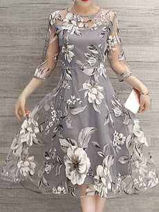 Best-Seller-Floral-Printed-See-Through-Midi-Skater-Dress-Low-To-4525-Off-Time-Limited-Sale-at-Fashionmiacom!-2b-Extra-Coupon-Free-Shipping-Over-2469-Code-AFFFS