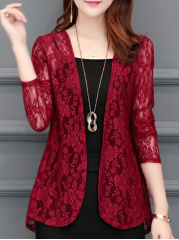Best-Seller-See-Through-Floral-Plain-Long-Sleeve-Cardigans-Only-241195-2b-Extra-Coupon-Free-Shipping-Over-2469-Code-AFFFS
